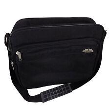 SAMSONITE Luggage CARRY ON Bag BLACK Nylon Shoulder