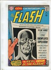 THE FLASH #167 - THE REAL ORIGIN OF THE FLASH! - (4.5) 1967