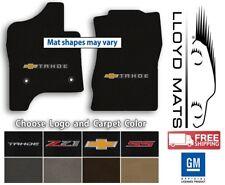 Chevrolet Tahoe - Classic Loop Carpet Front Floor Mats - Choose Color & Logo