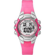 Marathon by Timex Mid-Size Watch Pink/Silver-Tone