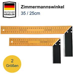 Zimmermannswinkel Schreinerwinkel Messwinkel Anschlagwinkel Tischler Winkel Alu