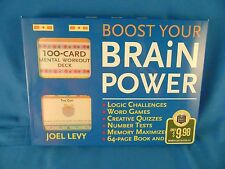 Game Boost Your Brain Power memory creative thinking language communication