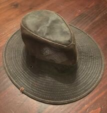 REDHEAD Hunting Fishing Safari Boonie Hat Size Small oiled cotton leather look