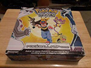 Pokemon Diamond And Pearl Poke Ball Flip Game 2007 Pressman Complete