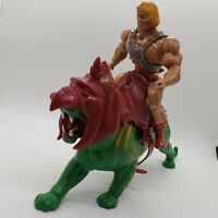 MOTU He-Man and Battle Cat Masters of the Universe Vintage Lot