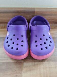 Baby Girls Crocs Infant Size 6