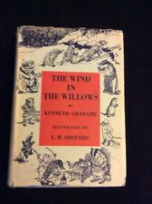 The Wind In The Willows Kenneth Grahame,  Illus E.H.Shepard.1 US Edition.1933.DJ
