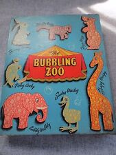Vintage Julius V Madsen Co. The Bubbling Zoo Bubble Bath Set Bubbly Wubbly