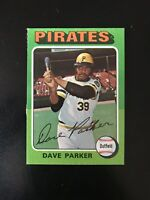 "1975 TOPPS #29 DAVE ""COBRA"" PARKER PIT PIRATES— SHARP💥*** (wph)"