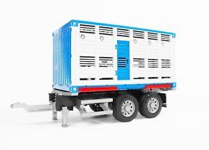 Bruder Container Viehtransport Wechselbrücke Anhänger z.B. für 03580 03581 03549