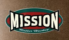 Mission Roller Hockey Decal Sticker Bauer New Ccm Tacks