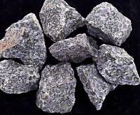"""1/2 lb lot Rough Indigo Gabbro, 1"""" Zentron™ Crystals"""