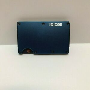 New The Ridge Slim Wallet Credit Card Holder Money Clip RFID