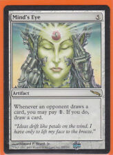MTG Mirrodin Rare card  1 x  MIND'S EYE  205/306 Artifact  Never played  AS NEW