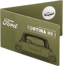 2017 Australia 50c Coloured UNC Coin - 1965 Cortina GT 500 MK I Classic FORD Car