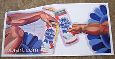 PABST BLUE RIBBON PBR ART Creation STICKER decal craft beer brewery brewing