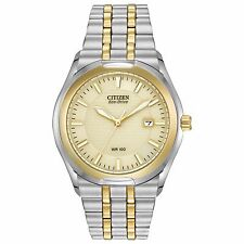 Citizen Eco-Drive Men's BM6844-57P Corso Yellow Gold Two-Tone Bracelet Watch