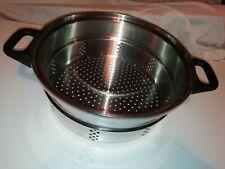Amway 18-8 Stainless Steel 25cm Diameter Steamer/Colander Insert