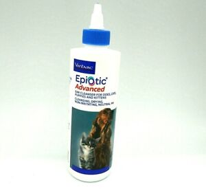 Virbac Epi-Otic Advanced Ear Cleaner 8 oz for Dogs Cats Kittens Puppies Exp 5/23