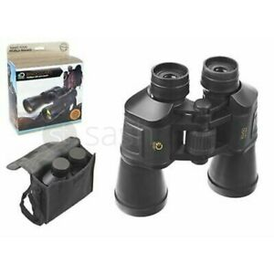 10X50mm Zoom Mini Compact Binoculars Foldable Telescopes Day Vision Clear Image