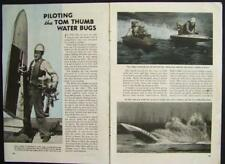 Hydroplane Racing 1942 pictorial Amatuer Midget Class