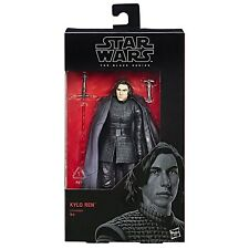 "Hasbro Star Wars Black Series 6"" 2017 Wave 12 The Last Jedi #45 Kylo Ren Figure"