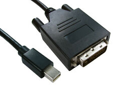 3mtr mini display port male to dvi-d male adaptor cable black