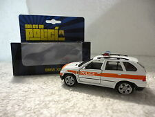 Autos de Policia,BMW X5,Suiza,Escala 1:36:38,Ed.Welly