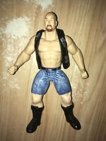 Stone Cold Steve Austin 1998 WWF WWE Jakks  Wrestling figure Austin 3:16 WHAT?!