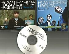 HAWTHORNE HEIGHTS Rescue Me TST PRESS PROMO Cd Single mentions LINKIN PARK TOUR