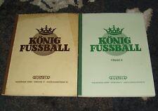 König CALCIO PARTE I+II AUSTRIA 1+2 Album per immagini da collezione 1952/53