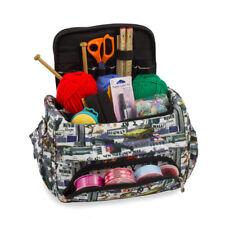 Knitting Bag, Sewing Accessories,Craft Needle Storage Organiser Case,New York