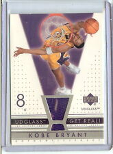 2002/03 Kobe Bryant Upper Deck UD Glass #KB-R Game Used Jersey Card