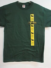NEW - THE VANDALS DARK GREEN BAND / CONCERT / MUSIC T-SHIRT EXTRA LARGE