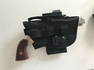 Solution de port tactique haut de gamme pour revolver poudre noire(rem 1858 colt