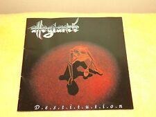 Allegiance - Destitution Album - CD - Australian Trash Metal. 1994 id/Phonogram