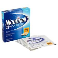 Nicotinell TTS 30 Anti-Smoking Patches, 7 Patches (21 mg)