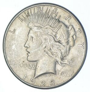 Better - 1923-S - Peace Silver Dollar - 90% US Coin *262