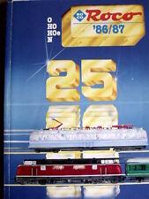 Catalogo ROCO 1986-87 scala 0 - H0 - N - ITA - Tr.11