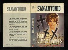 """San-Antonio : Rue des macchabées - N° 57 """" Editions Fleuve Noir """""""