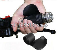 Easy Use Motorcycle Bike Grip Assist Wrist Cruise Control Hand Cramp Rest Black