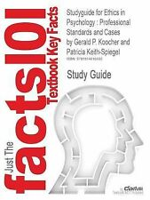 Outlines and Highlights for Ethics in Psychology : Professional Standards and...