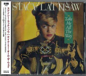 STACY LATTISAW - CD - Take Me All The Way + Bonus Tracks. Japan. Funky Town. New