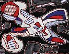 Jean Dubuffet Scissors l Canvas Print 16 x 20  #4120