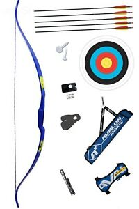 """Rolan Snake Bow Adult Package. 60"""" Bow Length, 22lbs Draw Weight. Free Delivery"""