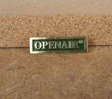 Openair Enamel Trade Advertising Badge .
