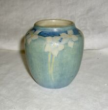 ANTIQUE c1913-15 JOSEPH MEYER NEWCOMB COLLEGE CYNTHIA LIGHTFOOT MATTE CLAY VASE