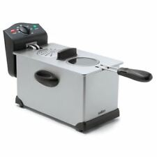 Salton DF1233 Easy Clean Deep Fryer Stainless Steel 1.3 Liters