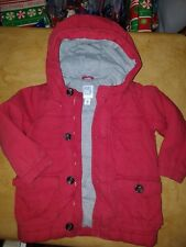 Old Navy Puffer Jacket Red Cargo Style 4T Excellent Condition