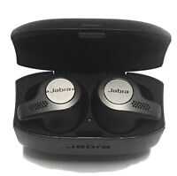 Jabra Elite Active 65t Wireless Earbud Headphones - Titanium Black. + New Tips